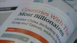 A page from the new Forbes Rich List