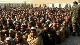 Afghan recruits