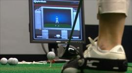 Using technology to play sport