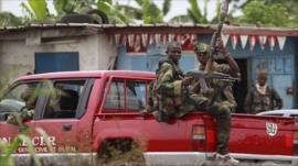 Armed pro-Ouattara forces