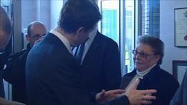 Nick Clegg and Gillian Duffy
