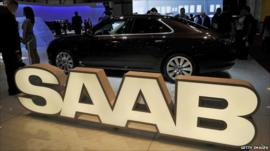 Saab display