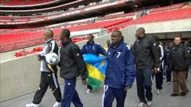 Rwandan Under 17 football team