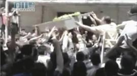 Syria, funeral
