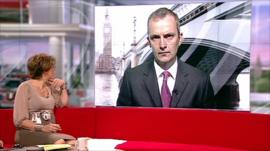 Ceop's Peter Davies speaks to BBC Breakfast presenter Kate Silverton