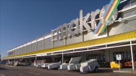 Massmart's Makro store in South Africa