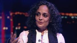 Novelist Arundhati Roy