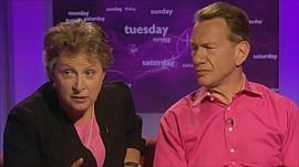 Gisela Stuart and Michael Portillo