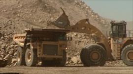 California's Mountain Pass mine