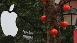 Unofficial Apple Store front in Kunming