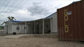 A new maternity hospital built entirely out of shipping containers