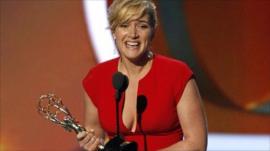 Kate Winslet wins an Emmy