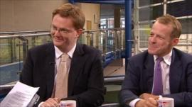 Danny Alexander and David Laws