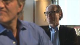 Peter Martins and Will Gompertz
