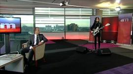 PJ Harvey on The Andrew Marr Show