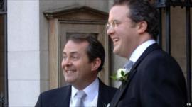 Defence Secretary Liam Fox and Adam Werritty