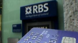 Cash machine and bank card