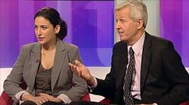Luciana Berger and Nick de Bois