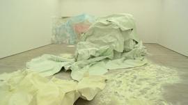Karla Black's work