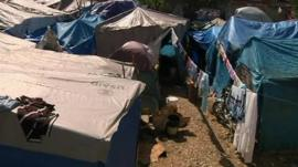 Shelters in Haiti