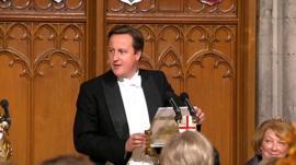 David Cameron at his City of London speech