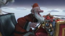 A scene from Arthur Christmas
