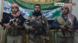 Defectors who say they have joined the 'Free Syrian Army'