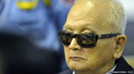 Nuon Chea in court