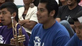 Youth Orchestra of Los Angeles members
