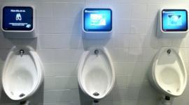 Urinal consoles