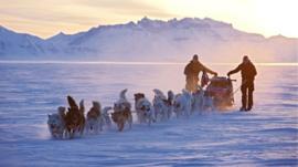 Sirius patrol in northern Greenland