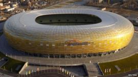 PGE Arena soccer stadium in Gdansk
