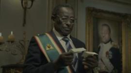Mugabe look-a-like in advert