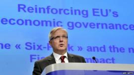 EU Economic Affairs Commissioner Olli Rehn