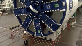 Crossrail's tunnelling machines