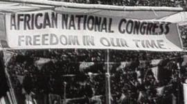 African National Congress protest