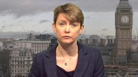 Yvette Cooper, the shadow Home Secretary