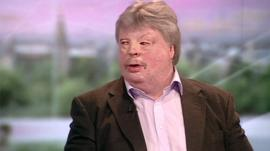 Wounded war veteran Simon Weston