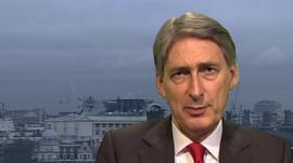 Defence Minister Philip Hammond