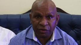 Belden Namah, Deputy Prime Minister, Papua New Guinea