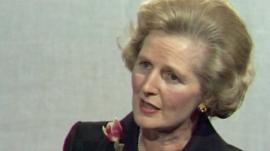 Margaret Thatcher (archive picture)