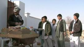 Boys in Afghanistan