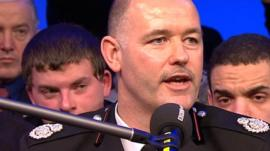 Peter O'Reilly from Greater Manchester Fire and Rescue Service says there are schemes on offer across the UK for young people to get into work.