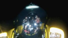 Triton submersible