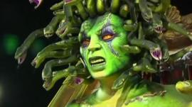 Medusa creature float