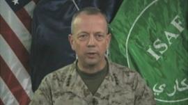 General John R Allen