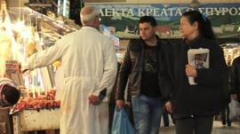Greek people react to bailout