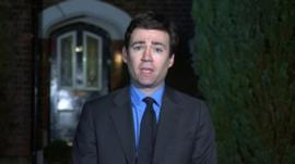 Andy Burnham speaks to BBC News.