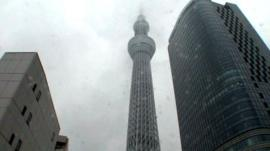 The Tokyo Sky Tree tower