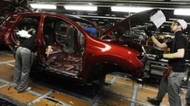 Nissan technicians